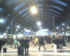 Milano Stazione centrale sera