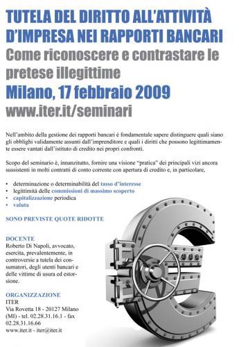 seminario Milano 17 02 09