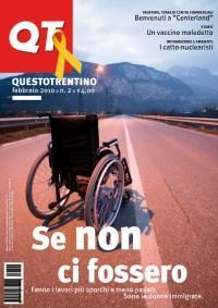 copertina Questo Trentino Febbraio 2010