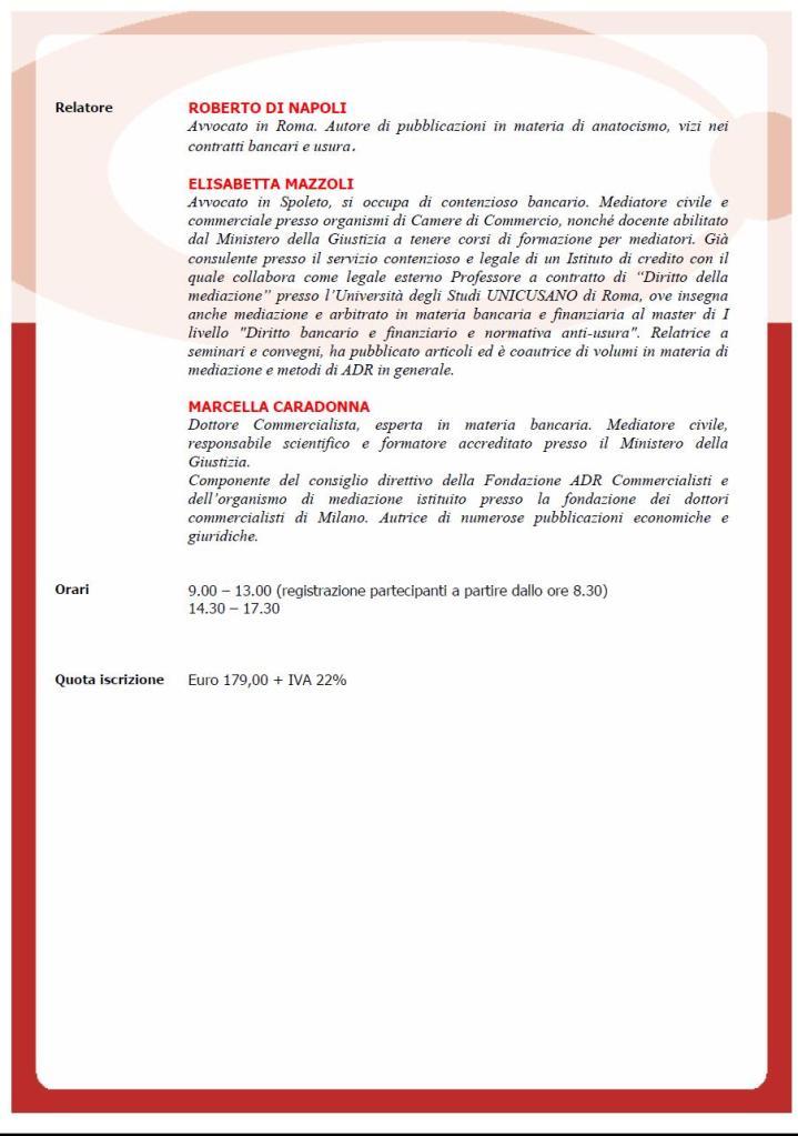 Locandina convegno Milano 19 Dicembre 14 relatori