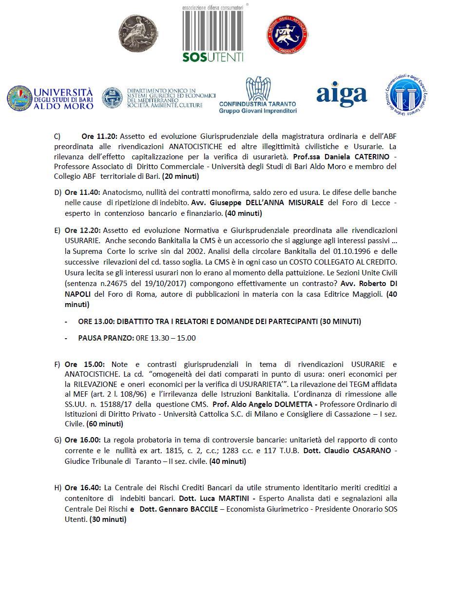 locandina seminario Taranto 10 novembre 17 2