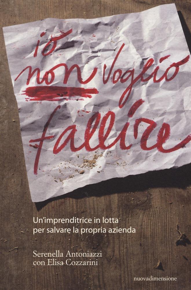 copertina libro Io non voiglio fallire