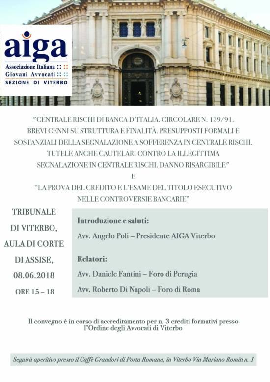 locandina convengo Viterbo 8 giugno 2018