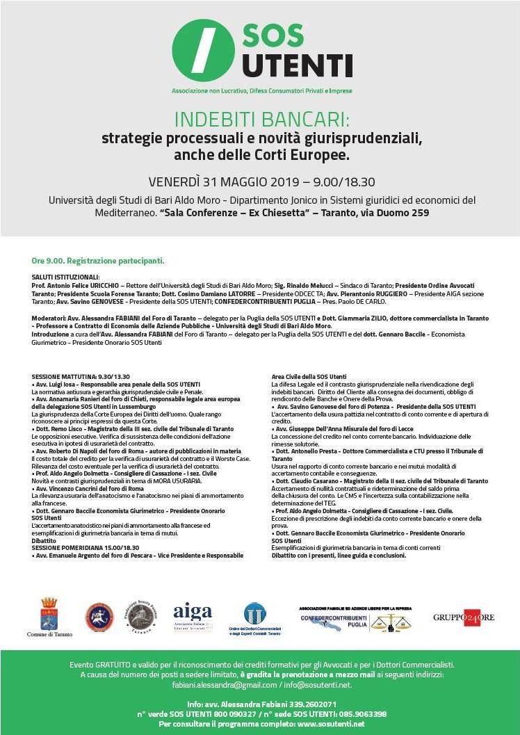 Taranto 31 maggio 2019
