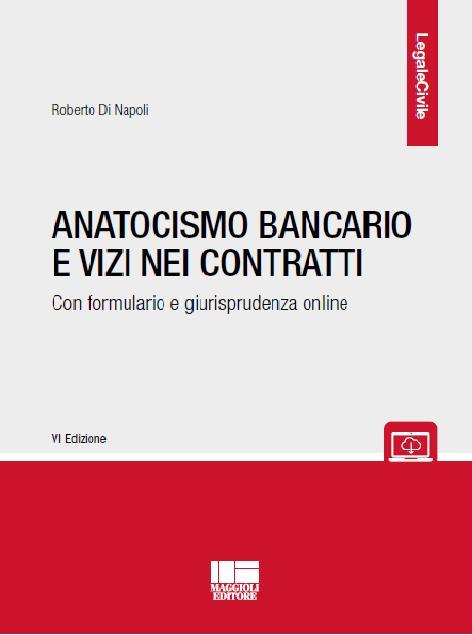 Copertina Anatocismo Bancario e vizi nei contratti, VI edizione